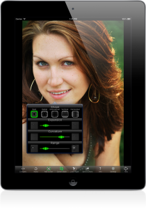 PhotoXform Image Editing App for iPad